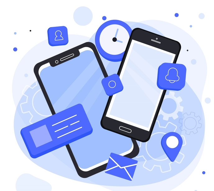 smart phones used for mobile research